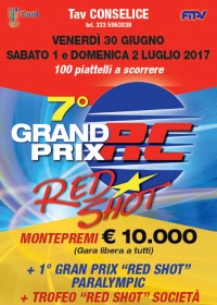 7� GRAND PRIX RED SHOT